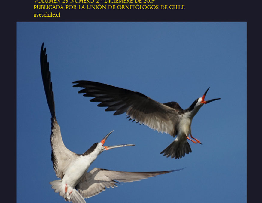 REVISTA CHILENA DE ORNITOLOGÍA VOLUMEN 25 NÚMERO 2 – 2019