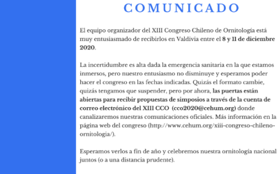 Comunicado CCO 2020