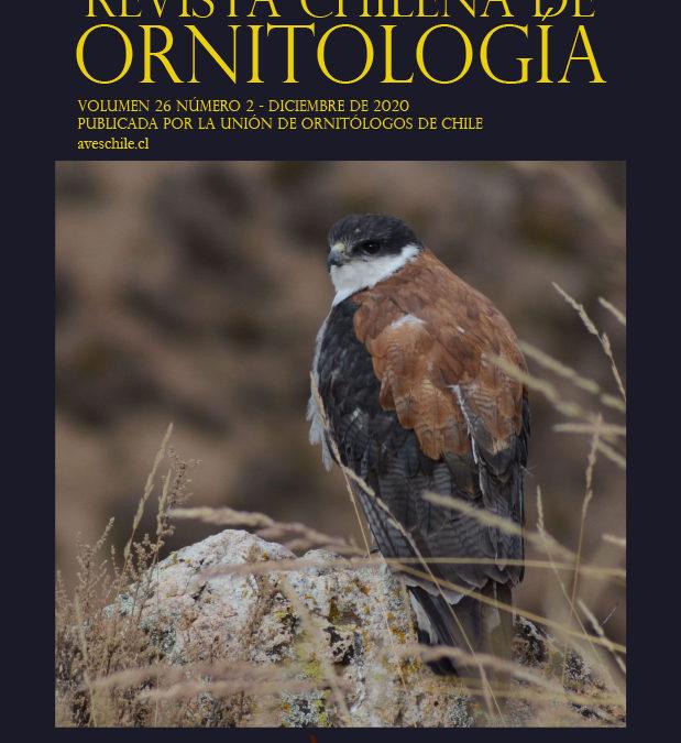 REVISTA CHILENA DE ORNITOLOGÍA VOLUMEN 26 NÚMERO 2 – 2020