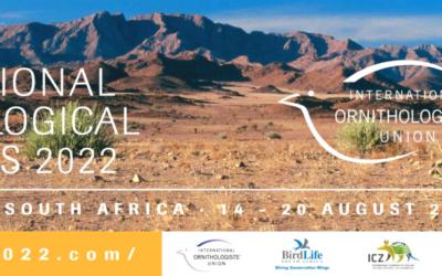 International Ornithological Congress 2022